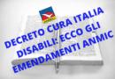 GLI EMENDAMENTI DI ANMIC AL DECRETO CURA ITALIA PER LE PERSONE CON DISABILITÀ