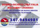 DISABILI-DECRETO CURA ITALIA: HAI DUBBI? CHIAMACI