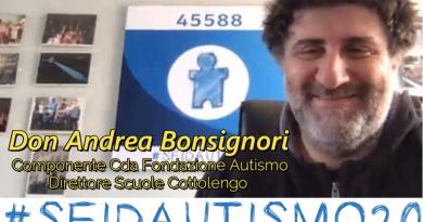 #SFIDAUTISMO20 L'INTERVISTA A DON ANDREA BONSIGNORI – FIA FONDAZIONE ITALIANA AUTISMO