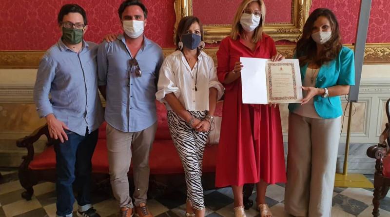 Il comune di Pisa premia ANMIC per l'attività prestata durante il periodo di lockdown