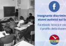 Insegnante discrimina gli alunni autistici. FaceBook blocca il suo profilo.