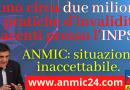 Sono circa due milioni le pratiche d'invalidità giacenti presso l'INPS. ANMIC: situazione inaccettabile.