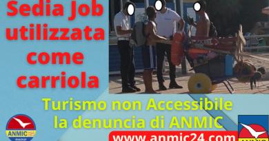 Turismo non Accessibile: ecco la denuncia di ANMIC