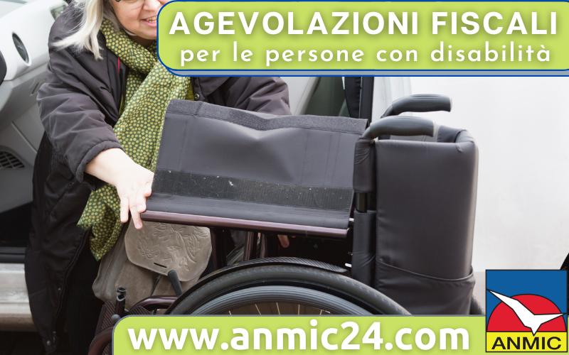 Agevolazioni fiscali per le persone con disabilità, alcune novità