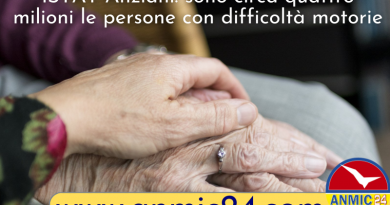 Report Istat sugli anziani: in Italia circa quattro milioni hanno difficoltà motorie